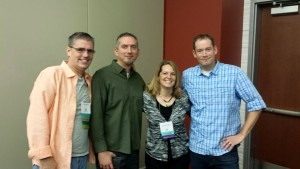 Me, James Dashner, Jennifer Nielsen, Brandon Mull
